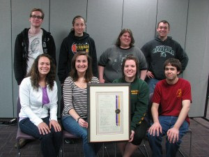 Chapter 361 - Michigan Mu, Ferris State University, Big Rapids, MI - October 17, 2012