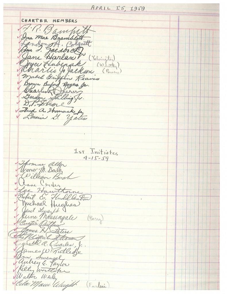 TX Alpha at Texas Christian University - 1959, page 2