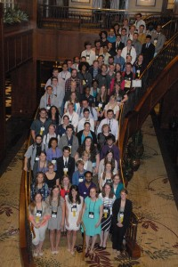 PME Student Speakers at 2014 Mathfest (Photograph by Robert Sefton Smith)